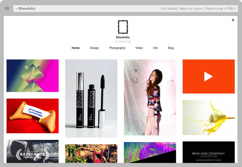 WordPress Themes for Designers, Artists, Photographers and Agencies ...
